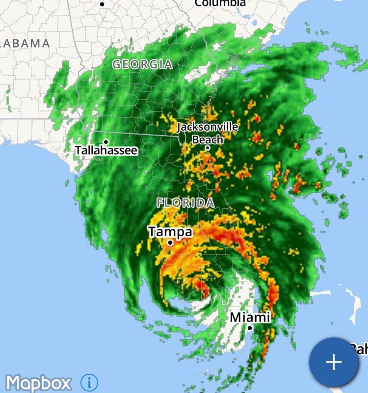 Hurricane Irma + Life Lately