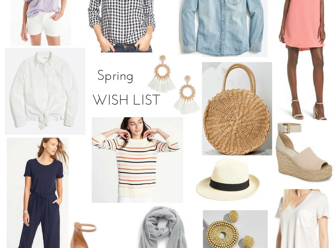 Spring Wish List