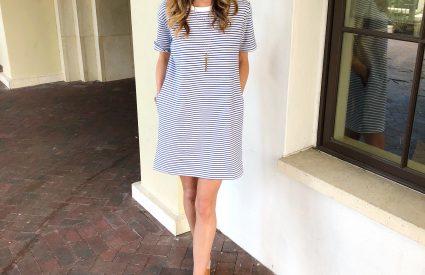 Striped Dress – 3 Ways