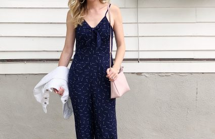 A Versatile Navy Jumpsuit – A Trend To Try