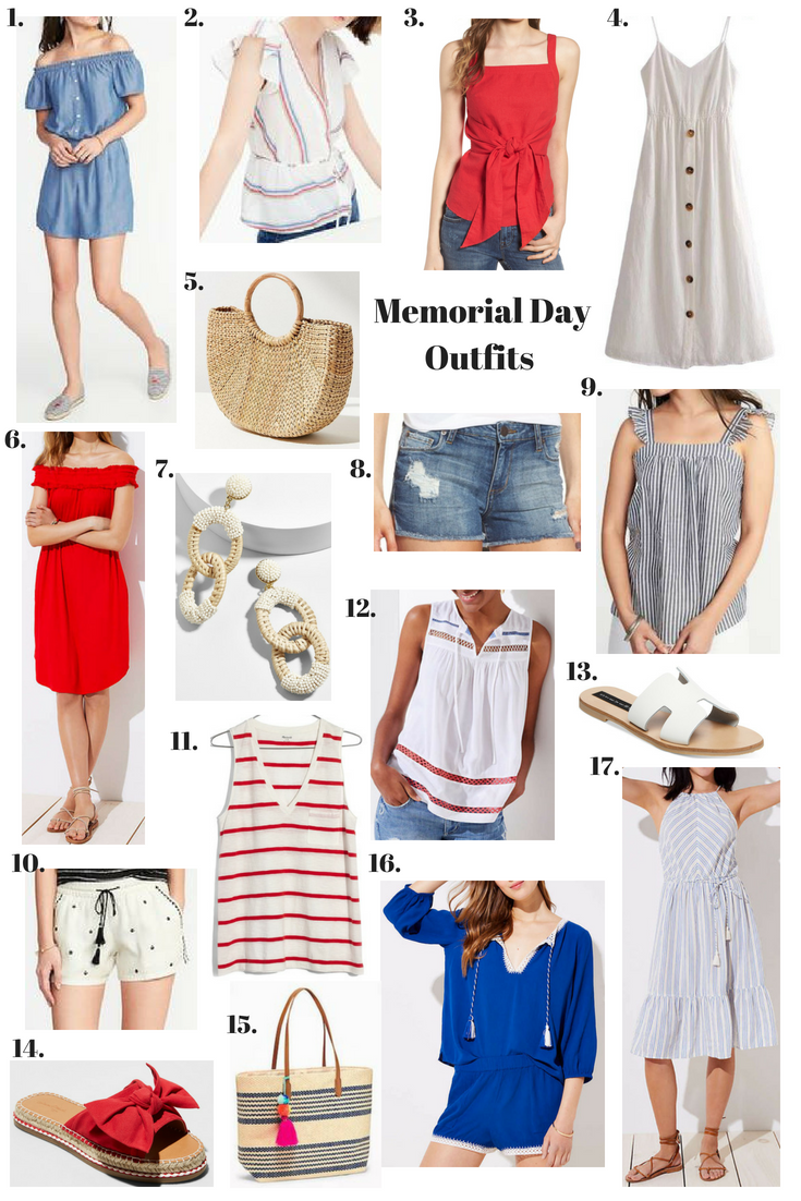 Memorial Day Outfits!