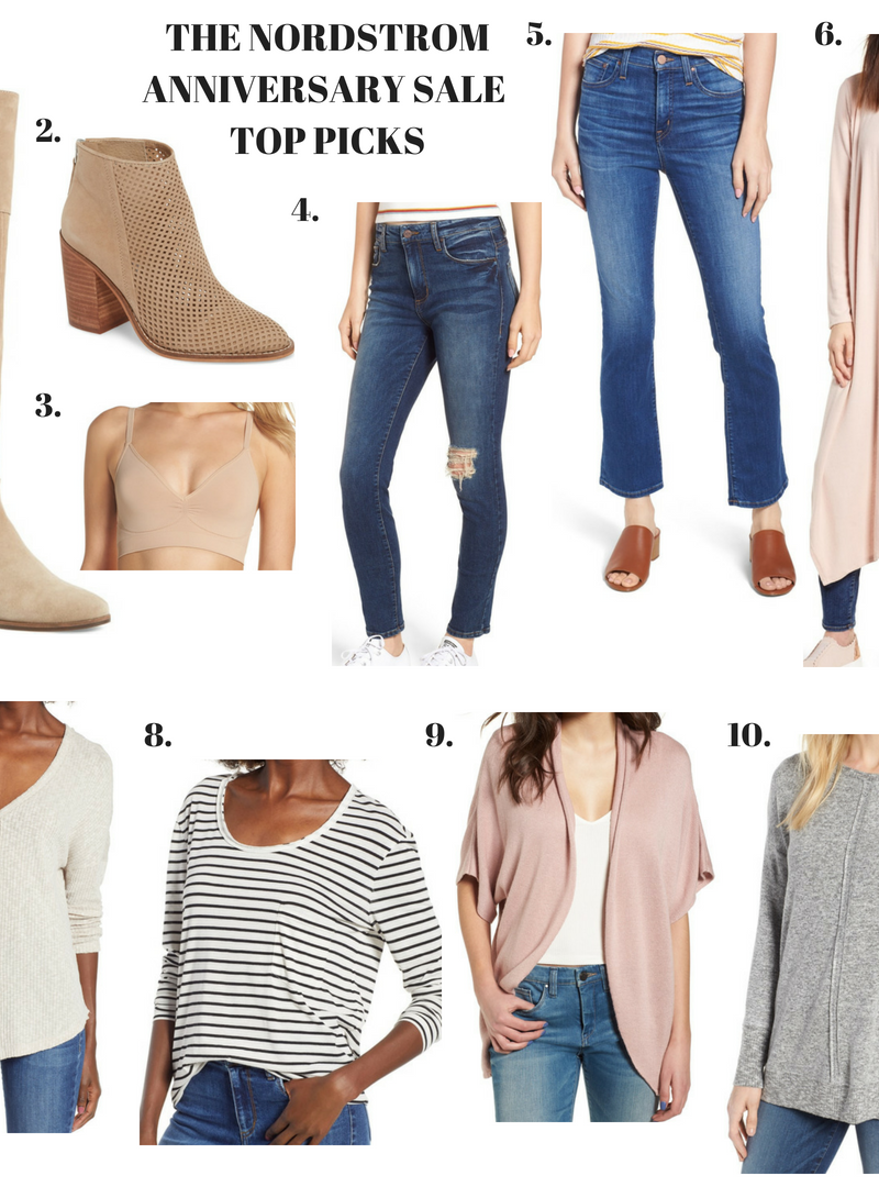 The Nordstrom Anniversary Sale starts today! My Top 10 Picks!