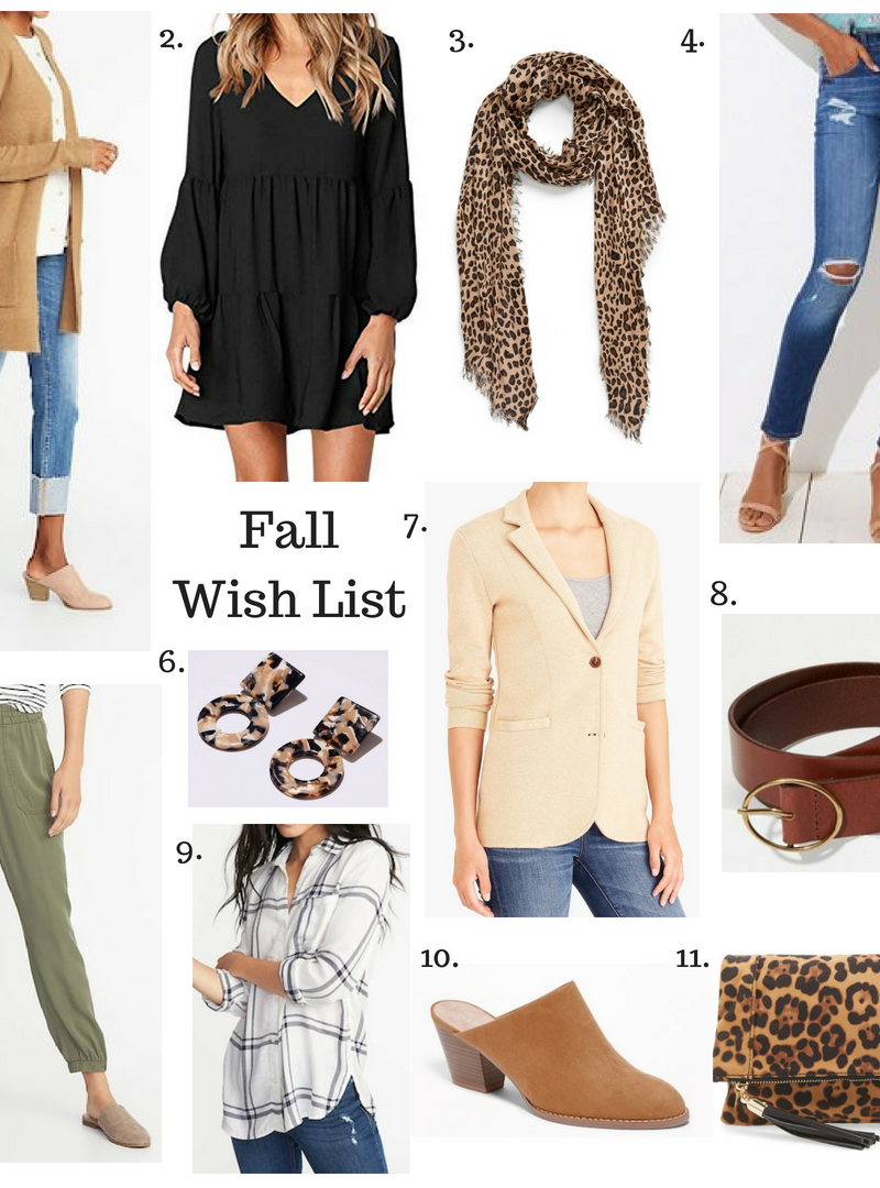 Fall Wish List + What's New In My Closet!