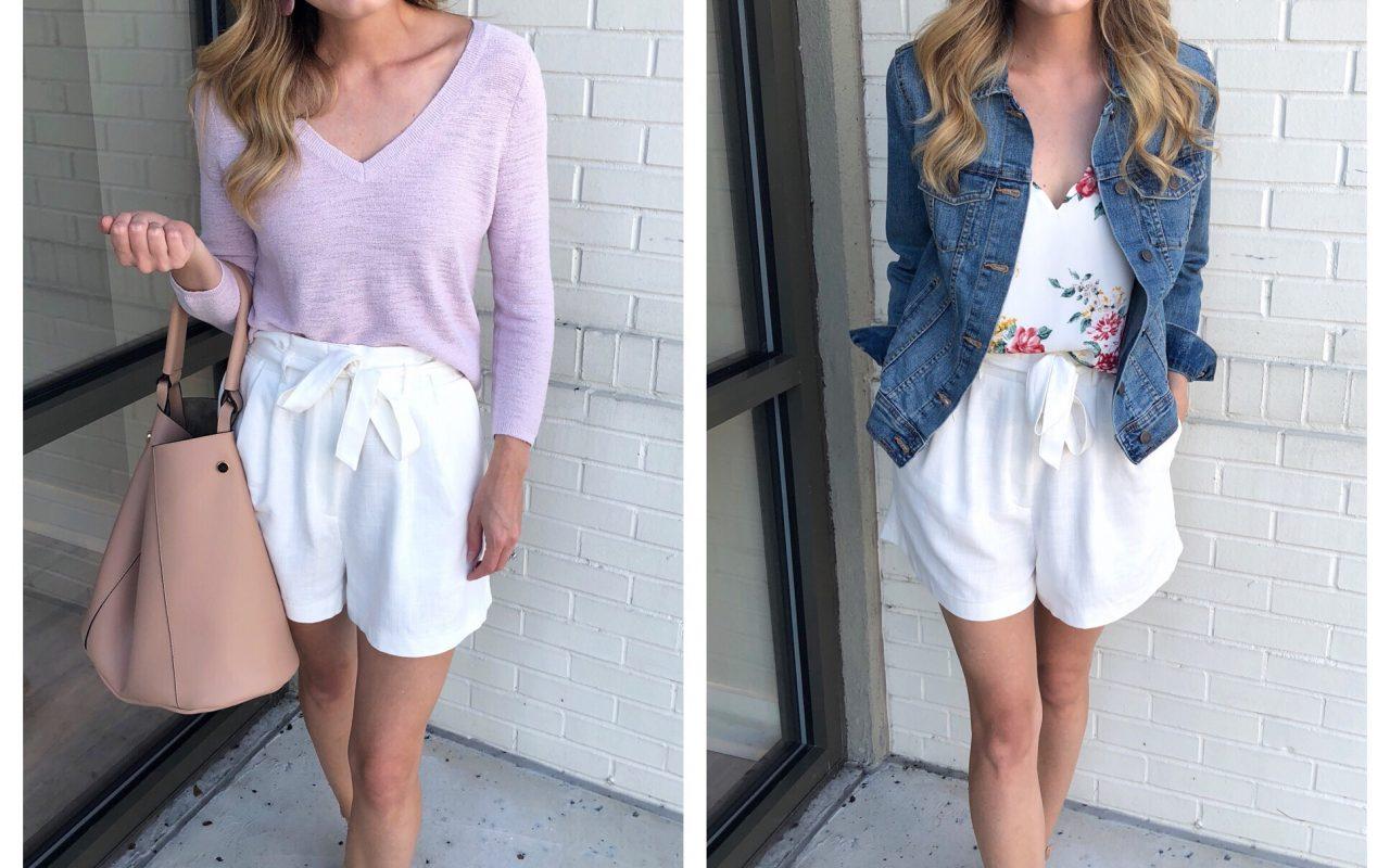 Transitioning Summer Shorts 2 Ways!