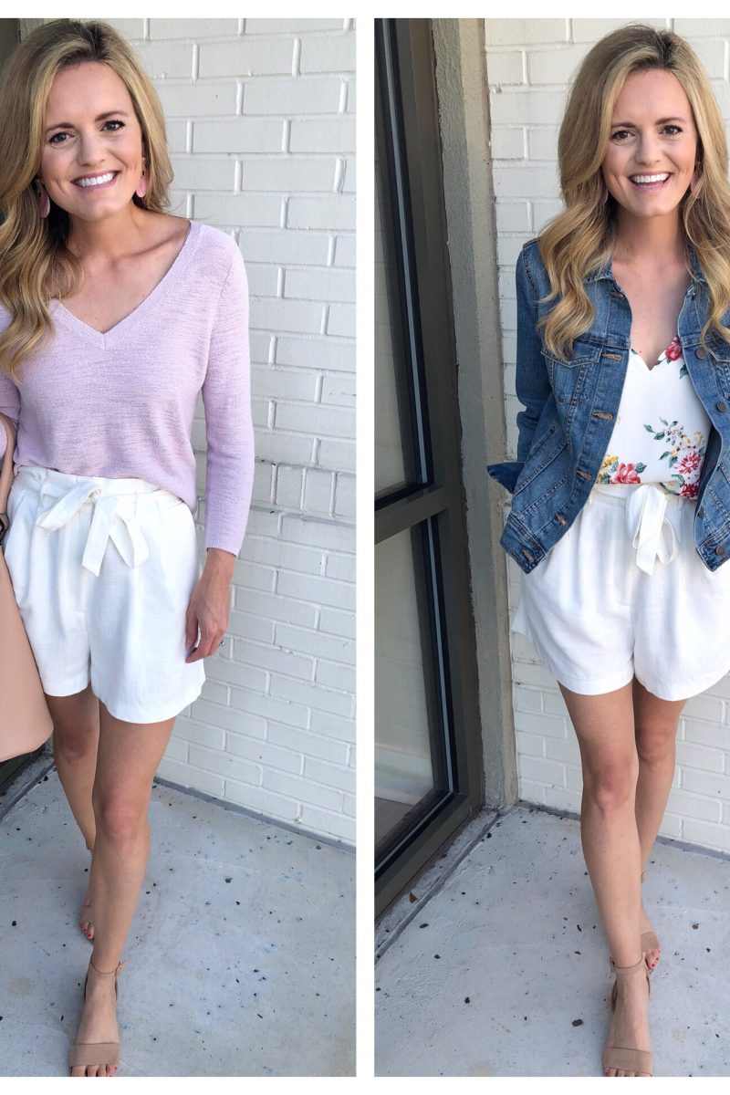 Transitioning Summer Shorts 2 Ways!