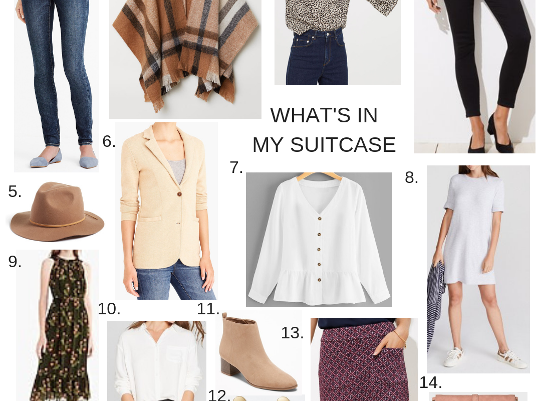 What's In My Suitcase – NAPA Style!
