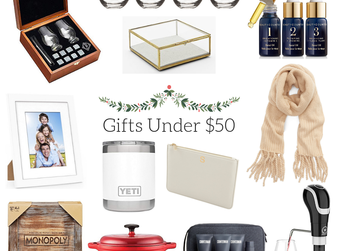 Gift Guide 2018: Gifts Under $50