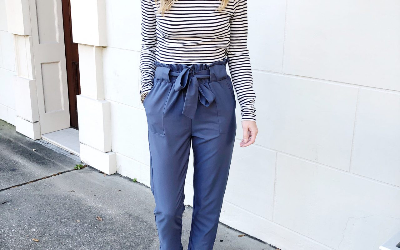Wear Now + Wear Later – Paper Bag Pants!