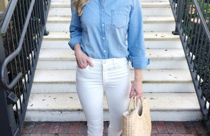 CLOSET STAPLE: CHAMBRAY SHIRT