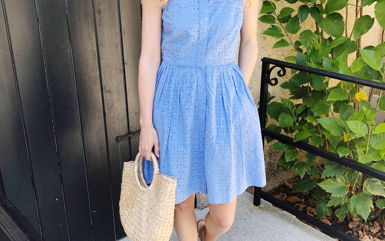 Eyelet Dress + Easter Dress Options!