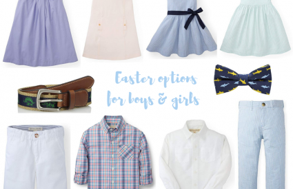 Easter Options For Boys & Girls!