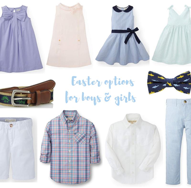 Easter Options For Boys & Girls!