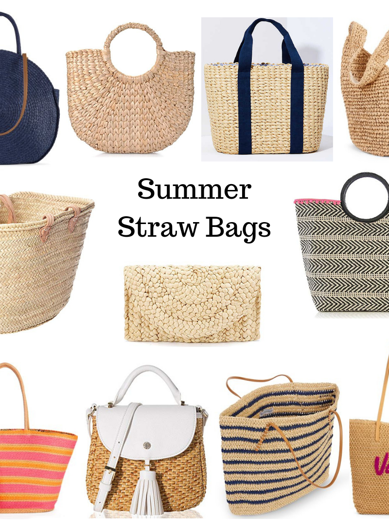 Summer Straw Bags!