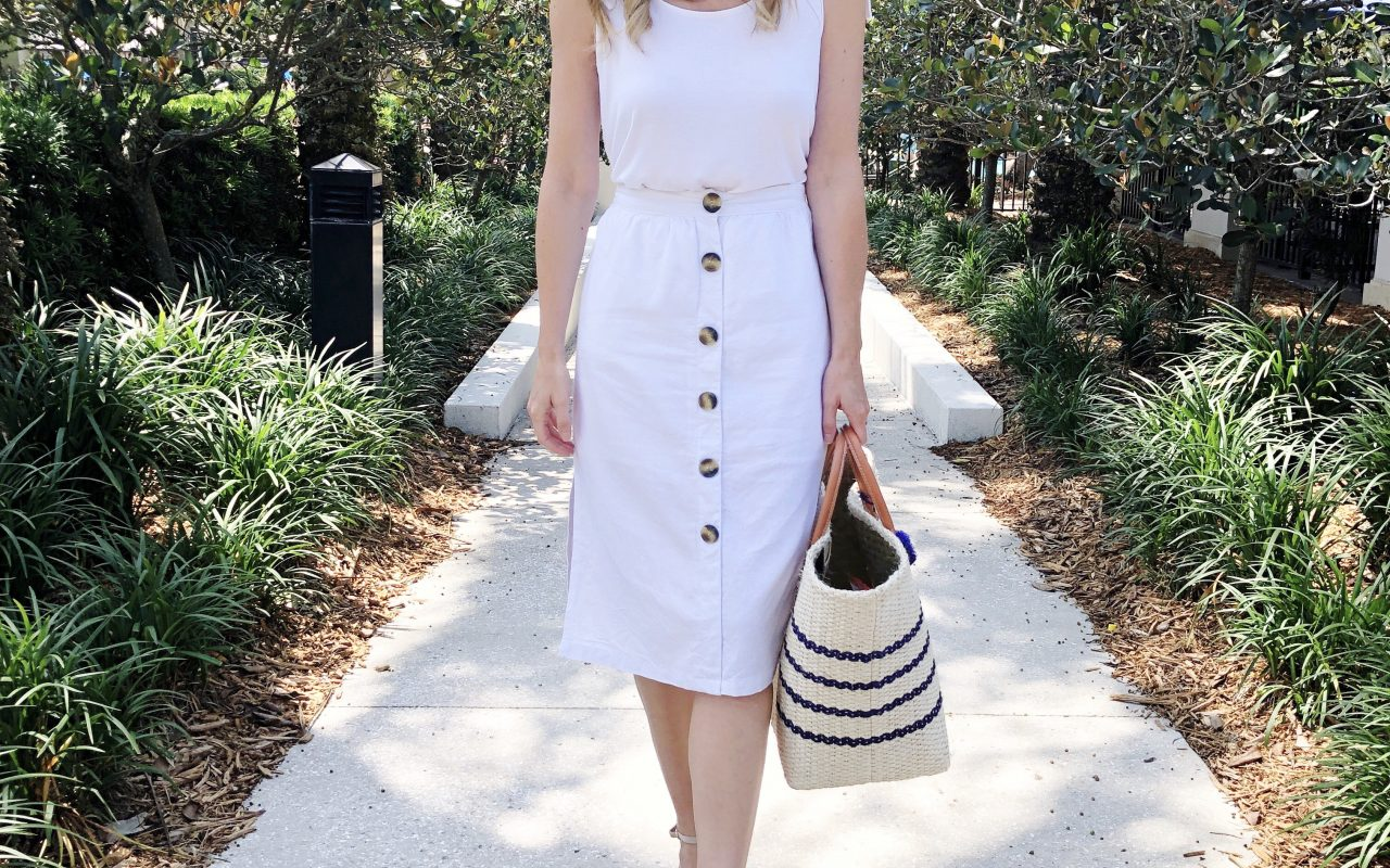 A Classic White Outfit!