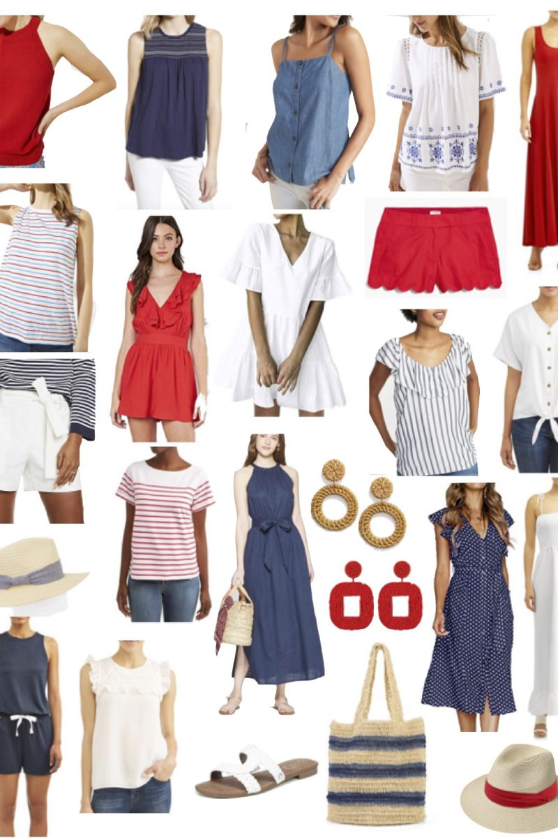 4th of July Outfit Options!
