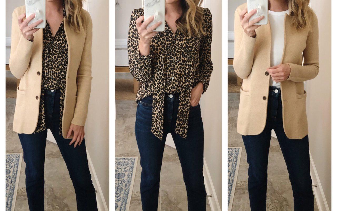 High Rise Straight Leg Denim – 14 Fall Outfits!