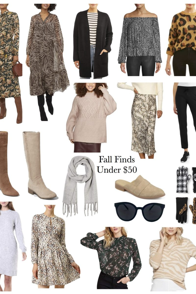 Fall Finds Under $50!