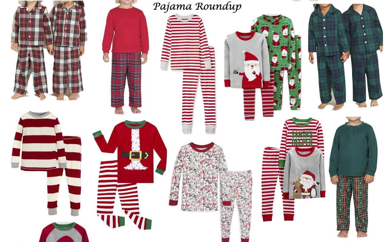 Christmas Pajama Roundup!