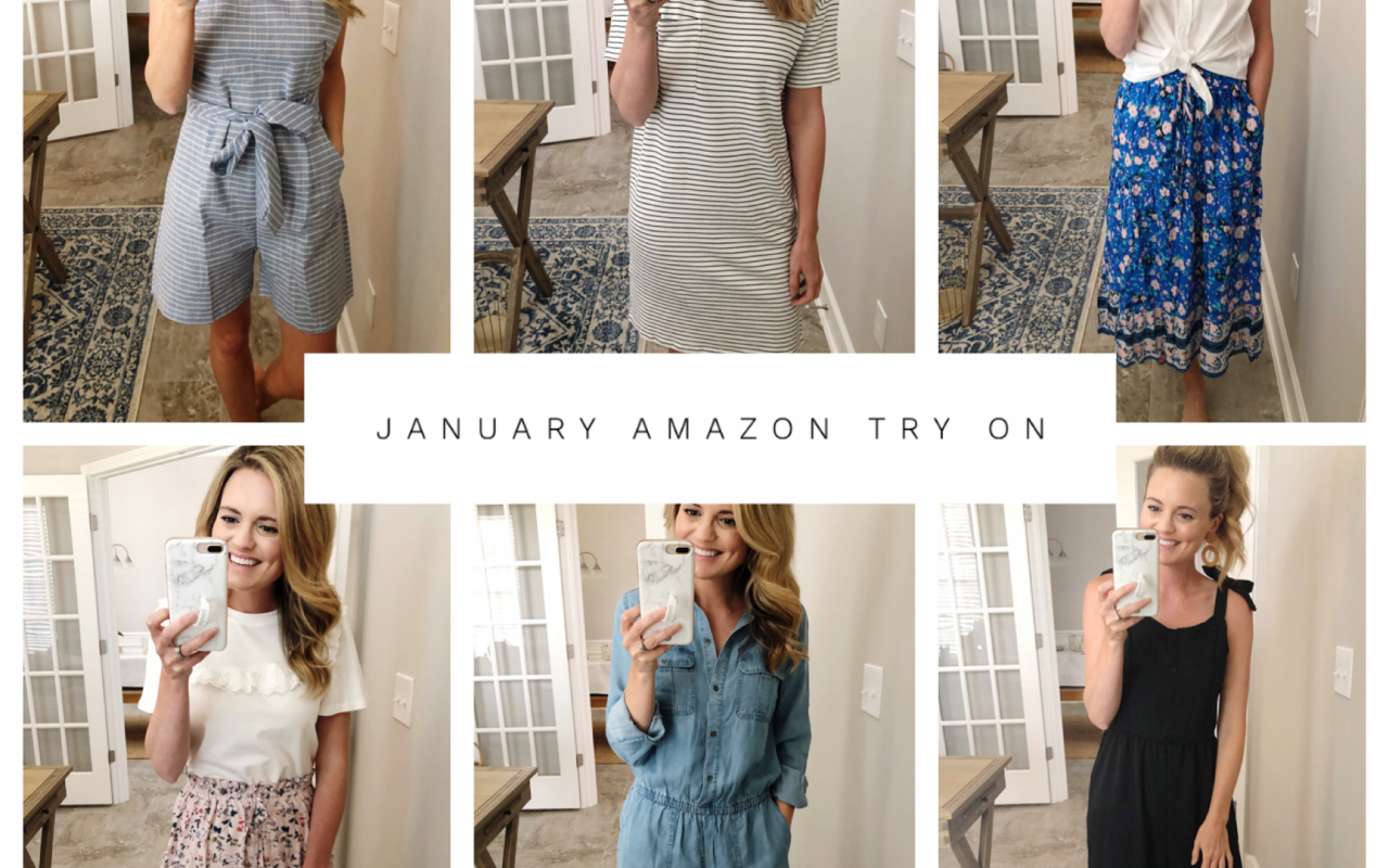 January Amazon Try On!
