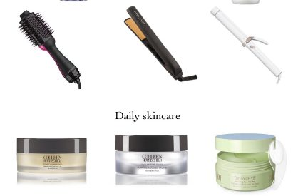 Hair Products/Tools + Daily Skincare!