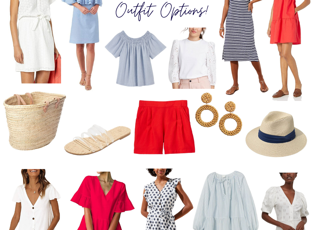 Memorial Day Outfit Options!