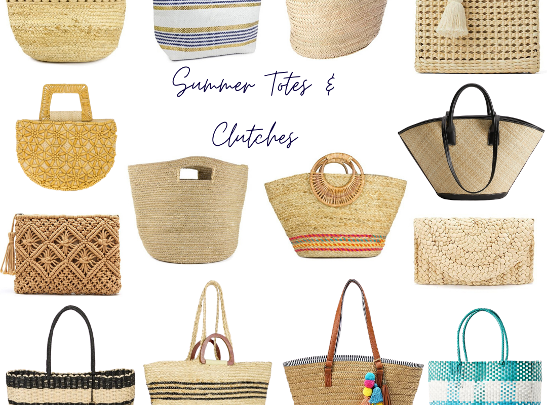 Summer Totes & Clutches