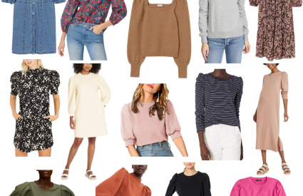 Fall Trend | The Puff Sleeve