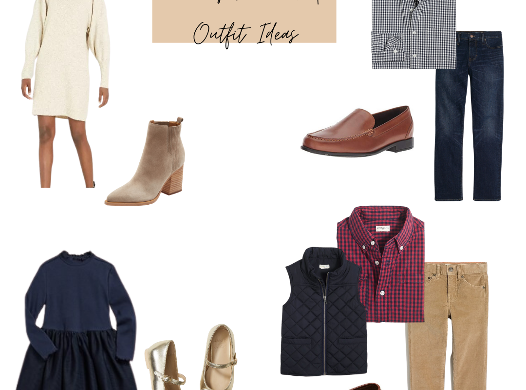 Family Pictures | Outfit Ideas!