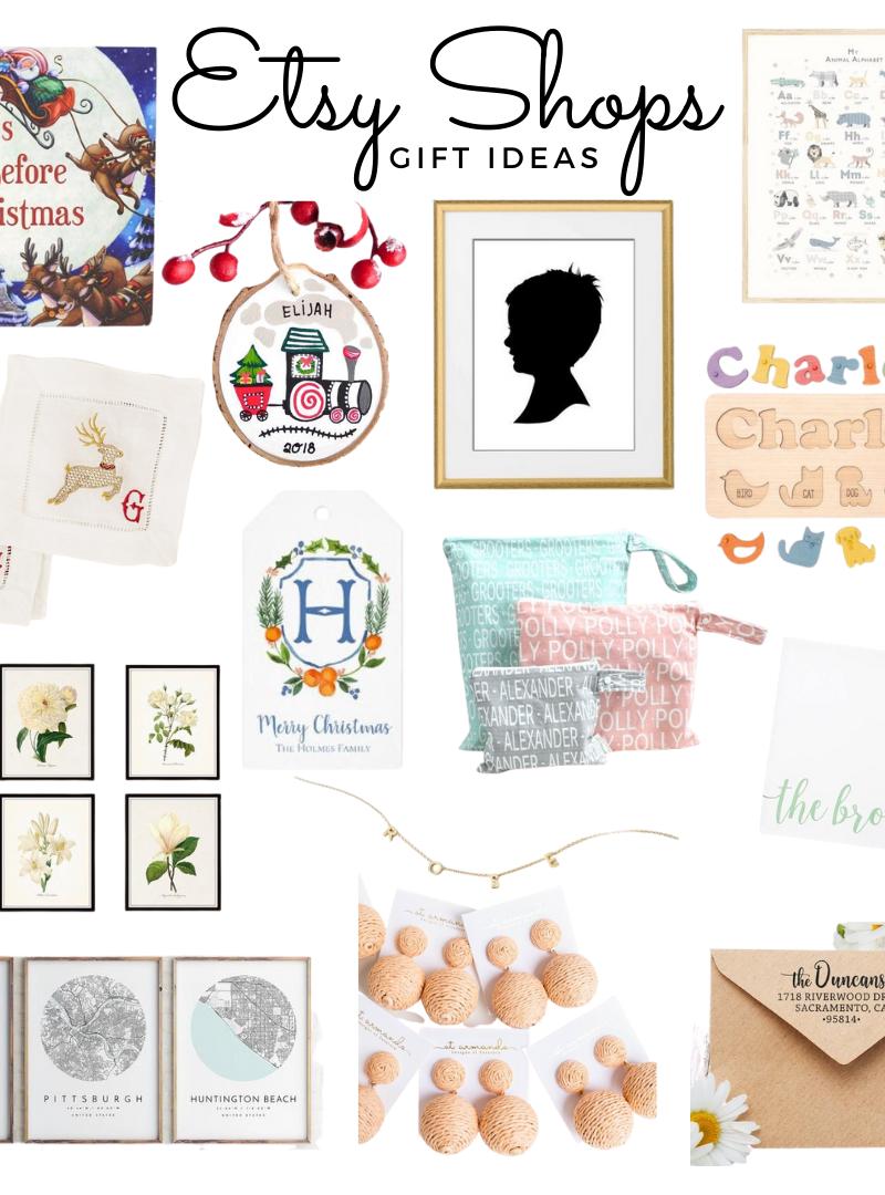 Etsy Shops | Gift Ideas