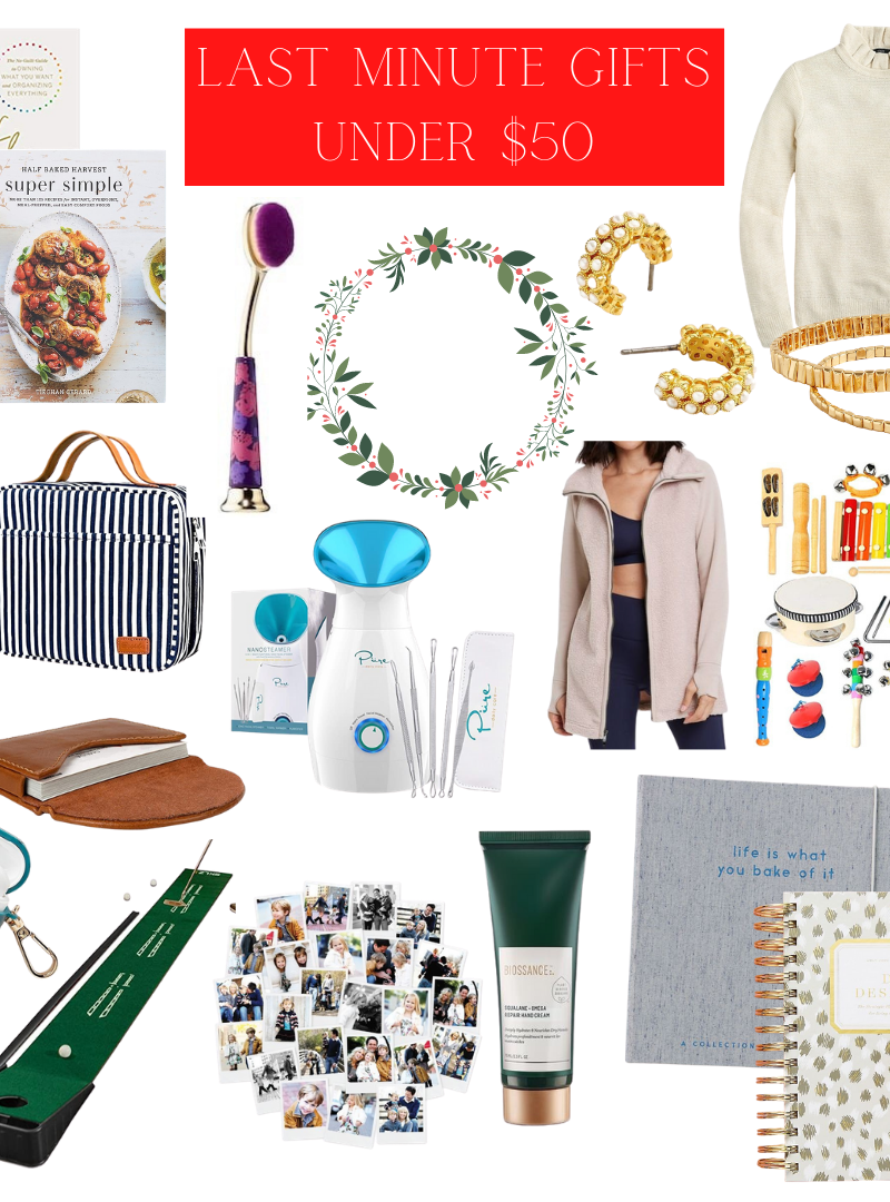 Last Minute Gifts Under $50!