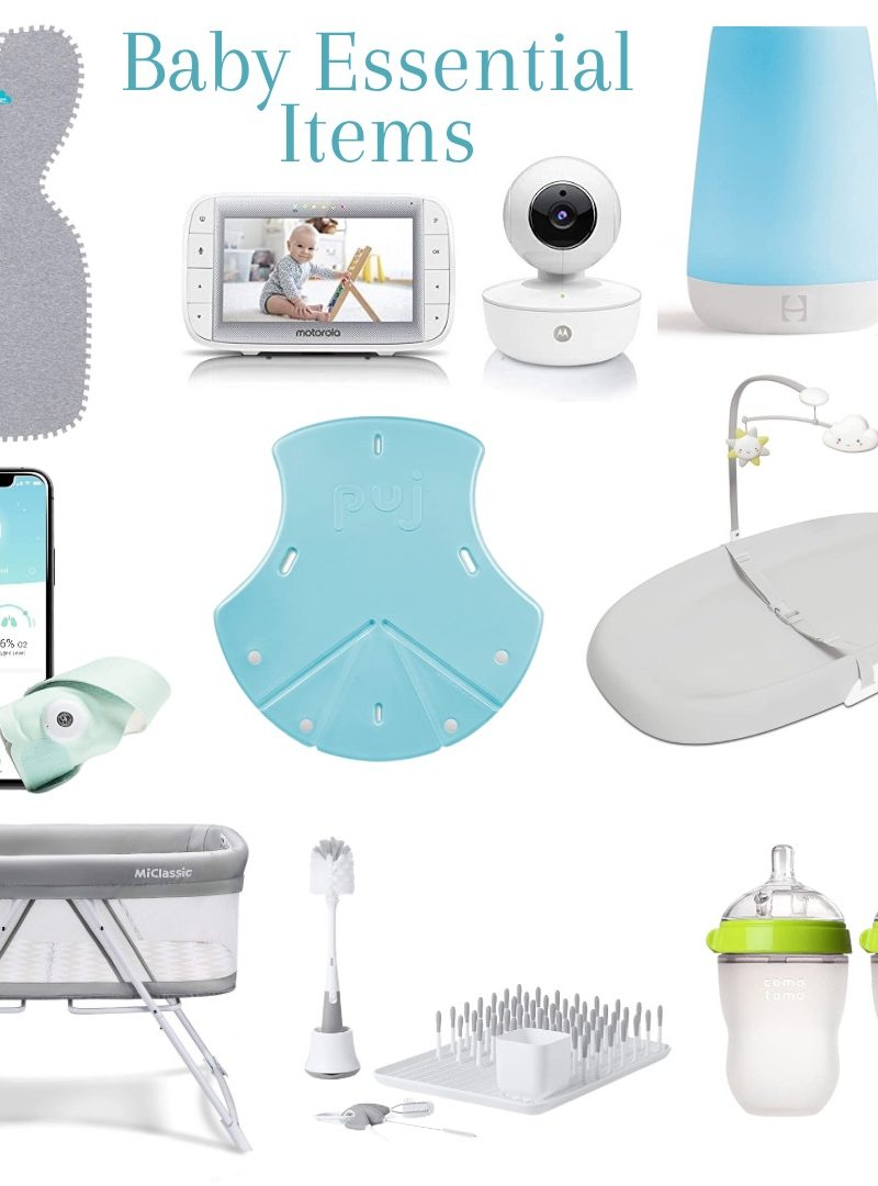 Baby Essential Items + Pregnancy Update!