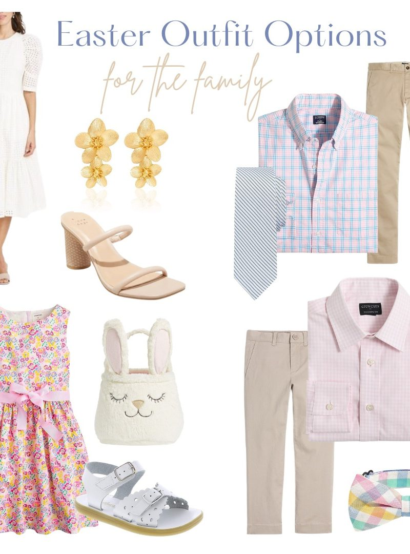 Easter Outfit Options For The Family!