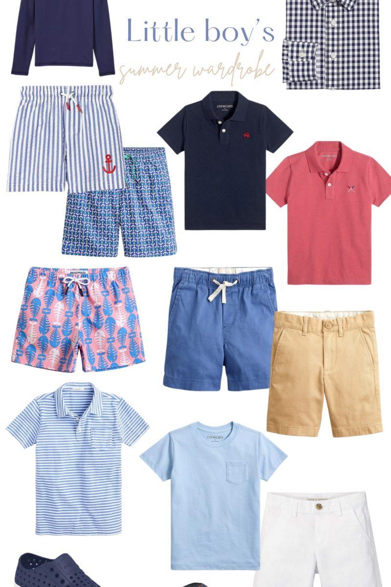 Little boy's summer wardrobe!