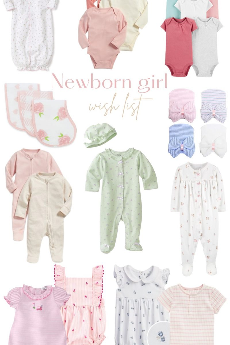 Newborn Boy & Girl Wish List!