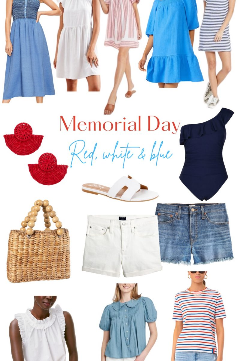 Memorial Day – Red, White & Blue!